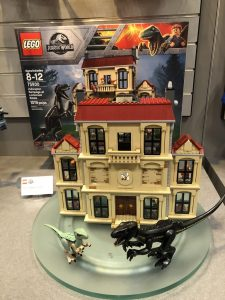 Lego Indoraptor Rampage at Lockwood Estate review