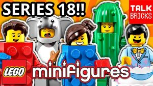 Lego Minifigures Series 18 Party review