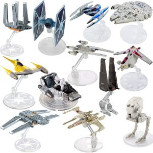 Hot Wheels Spaceship Models Figures 12pack