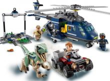Lego Blues Helicopter Pursuit