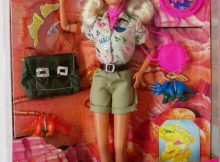 Barbie Paleontologist Doll